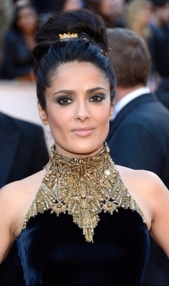 salma-hayek-2013-academy-awards-oscars-red-carpet-dress-alexander-mcqueen