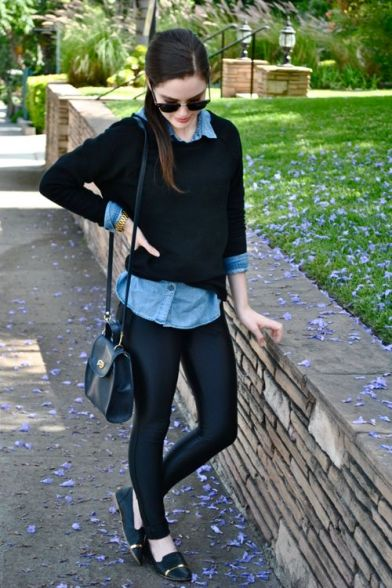 jeans sueter